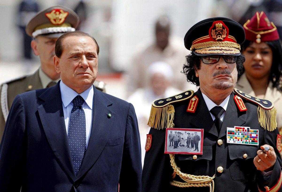 ITALY LIBYA GADDAFI VISIT